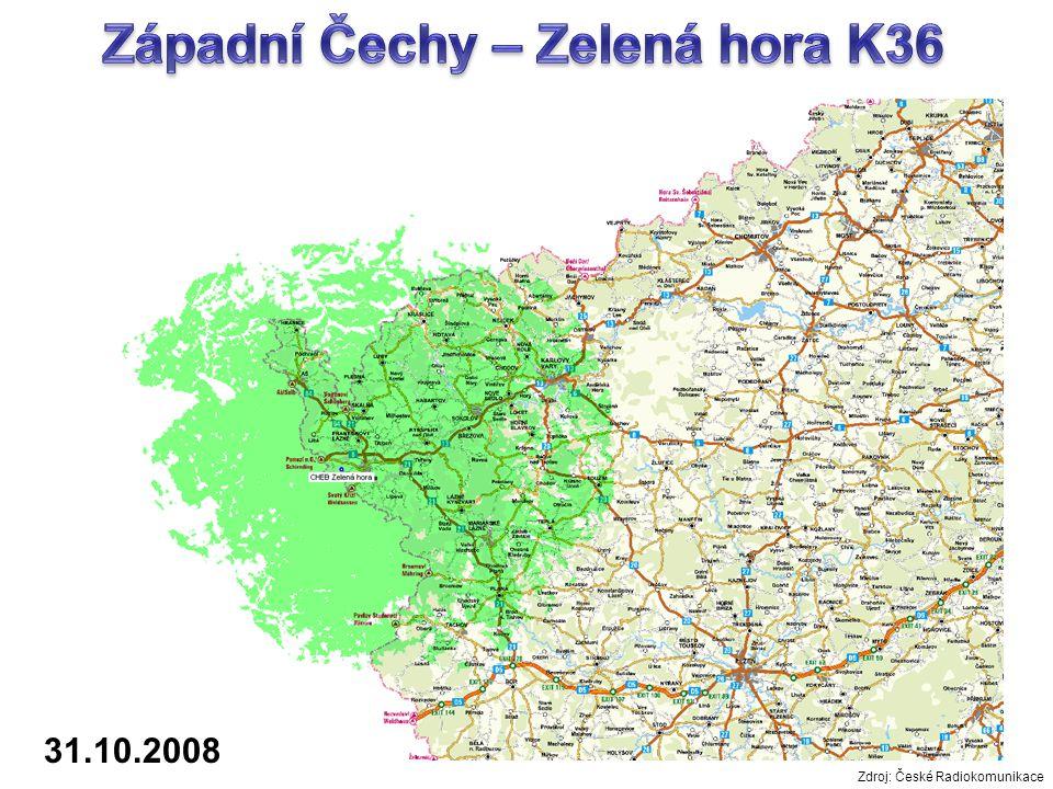 Západní Čechy – Zelená hora K36