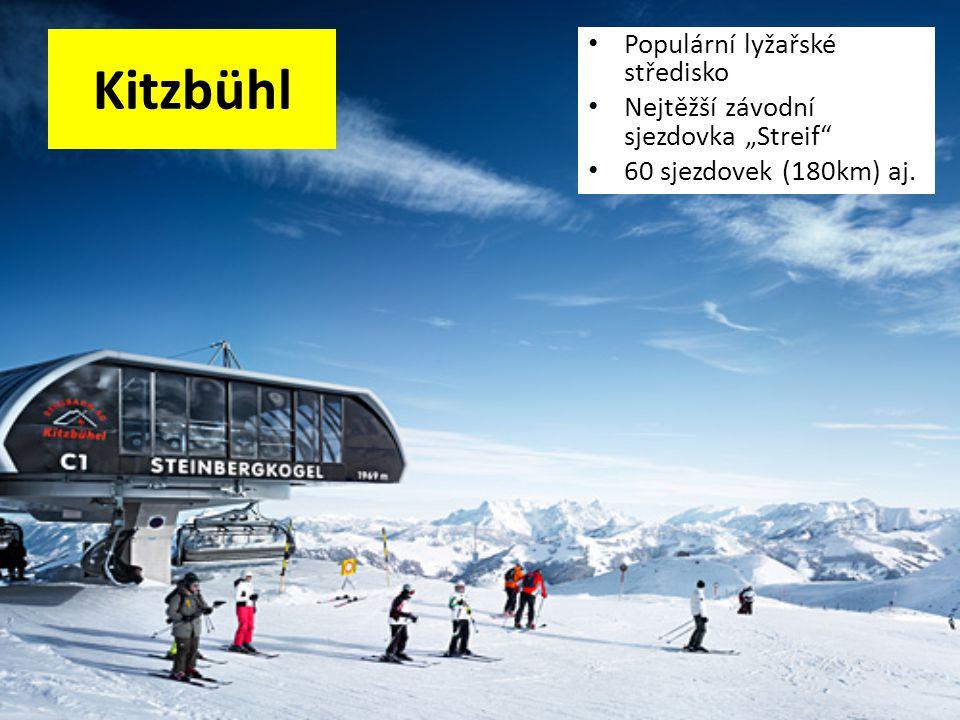 Kitzbühl Populární lyžařské středisko