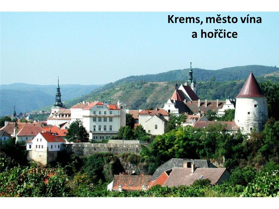 Krems, město vína a hořčice