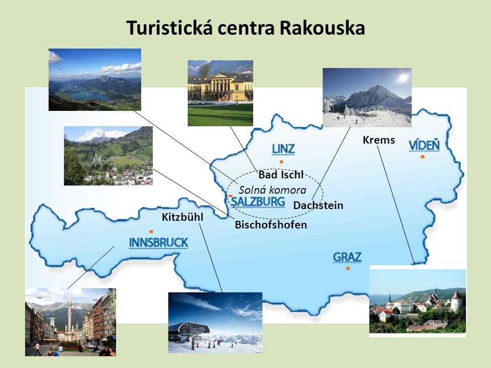 Turistická centra Rakouska