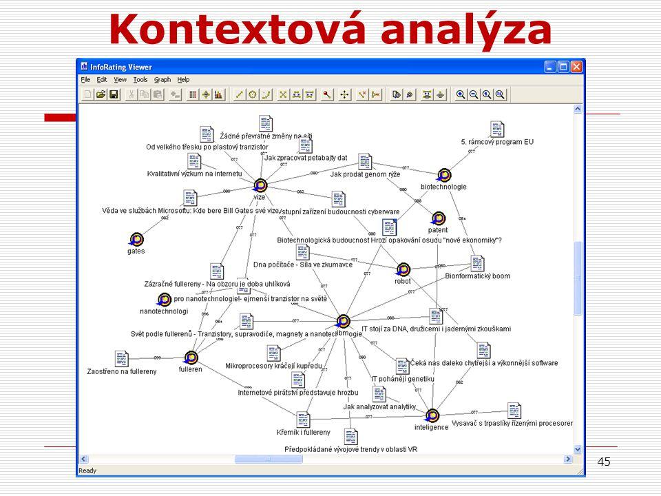 Kontextová analýza