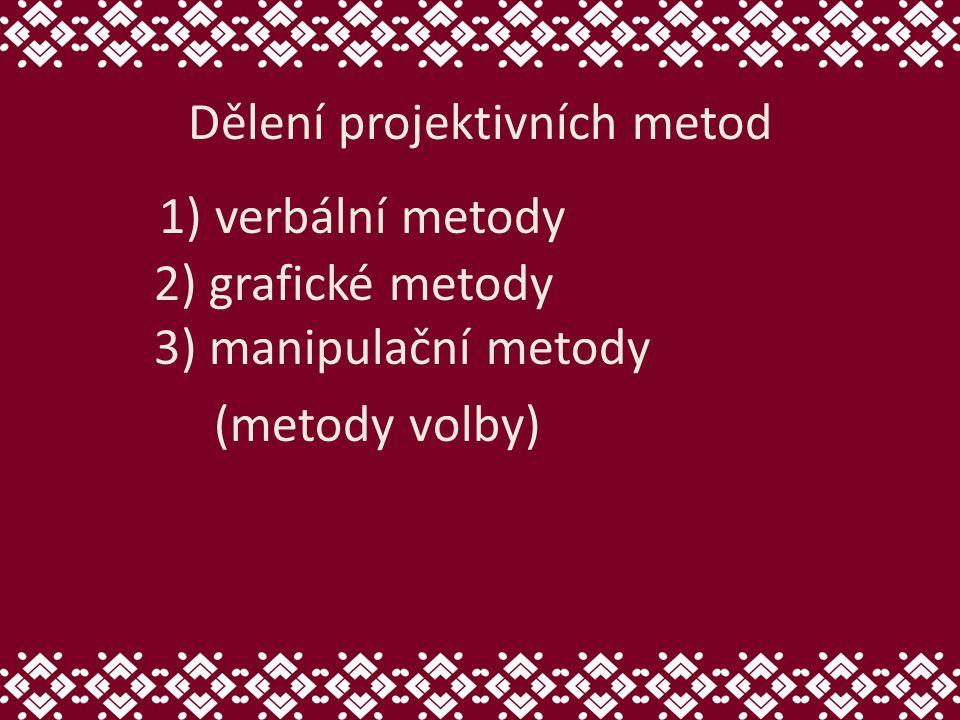 Dělení projektivních metod