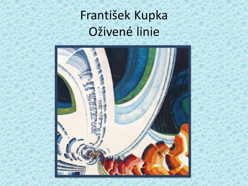 František Kupka Oživené linie