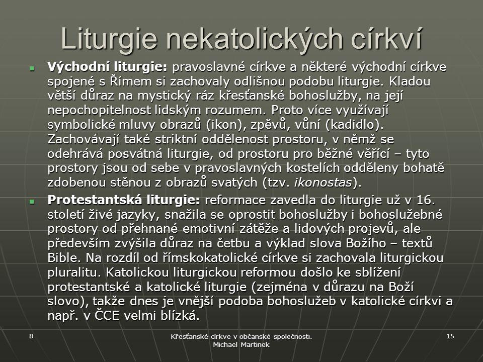 Liturgie nekatolických církví