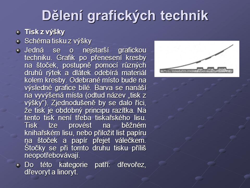 Dělení grafických technik