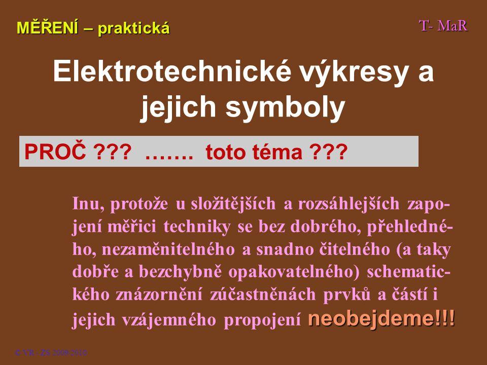 Elektrotechnické výkresy a jejich symboly