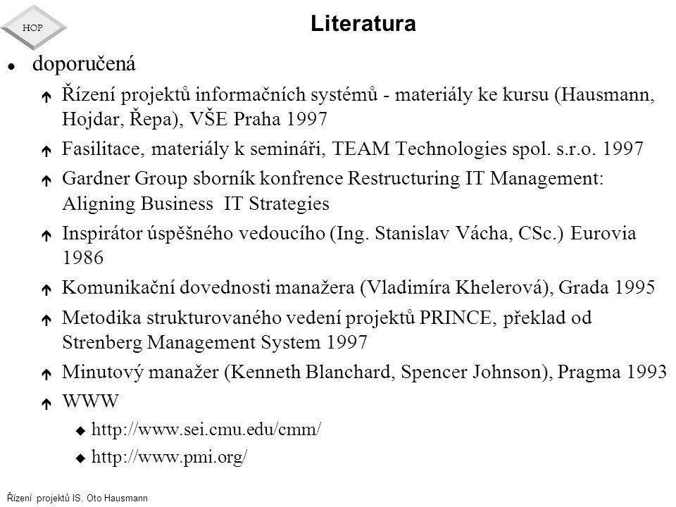Literatura doporučená