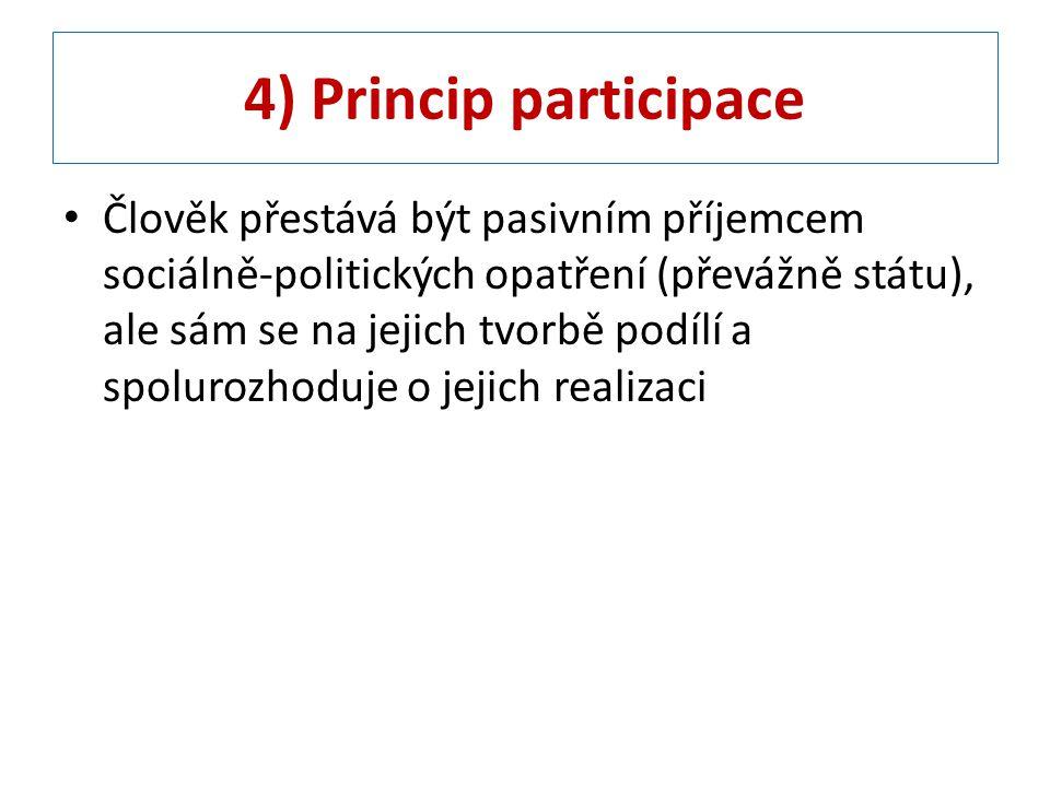 4) Princip participace