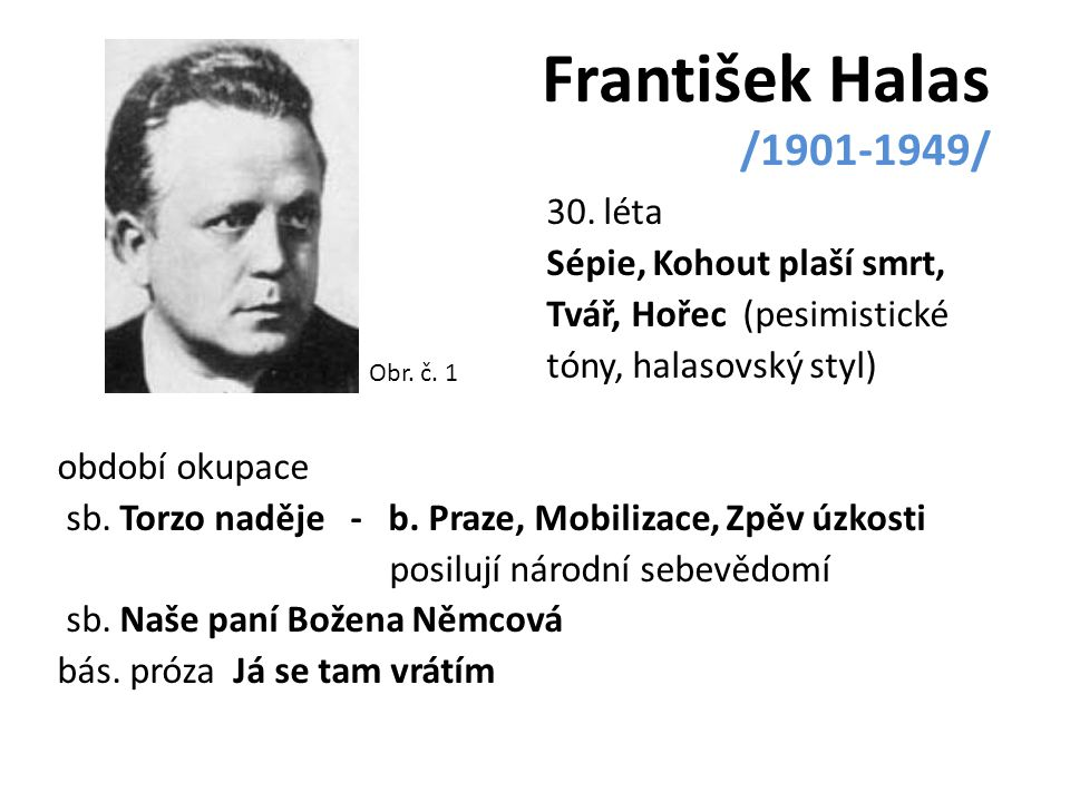 František Halas /1901-1949/
