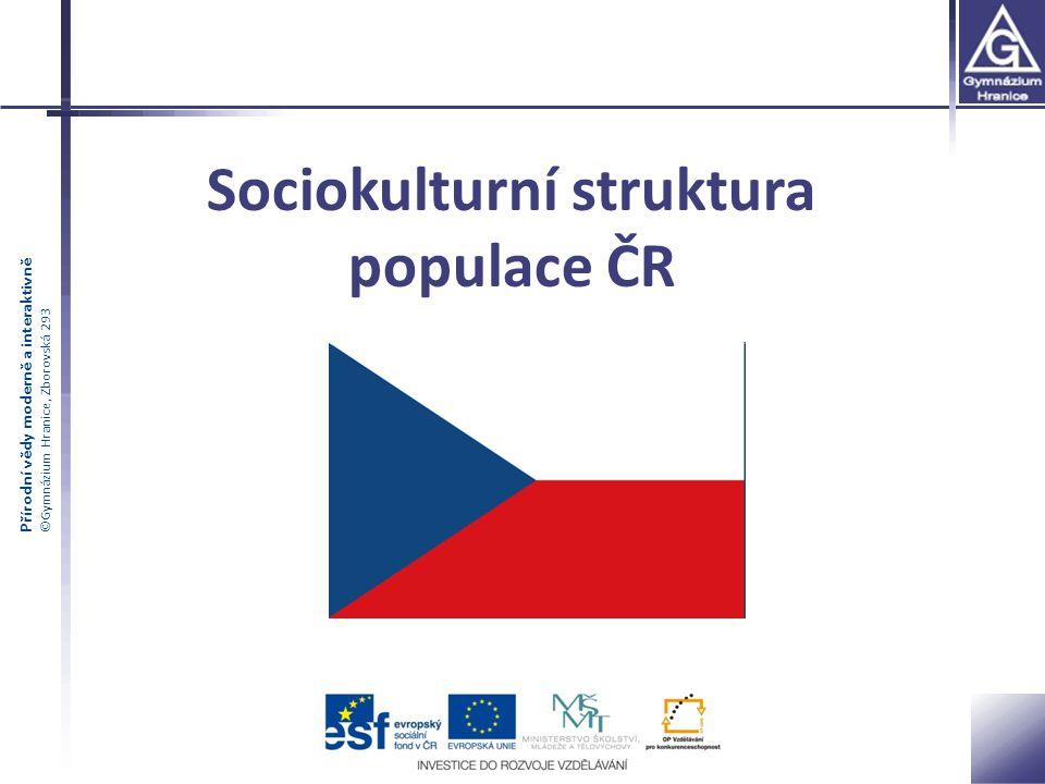 Sociokulturní struktura populace ČR