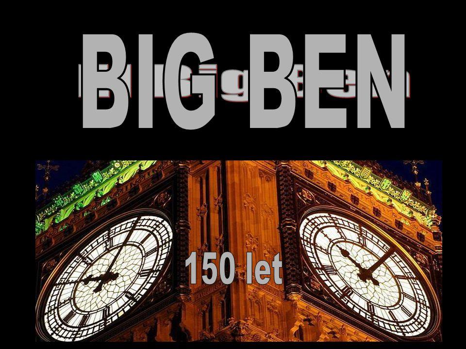 BIG BEN El Big Ben 150 let