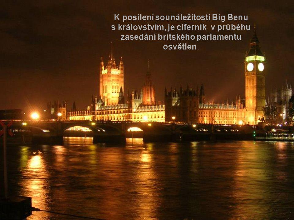 K posílení sounáležitosti Big Benu