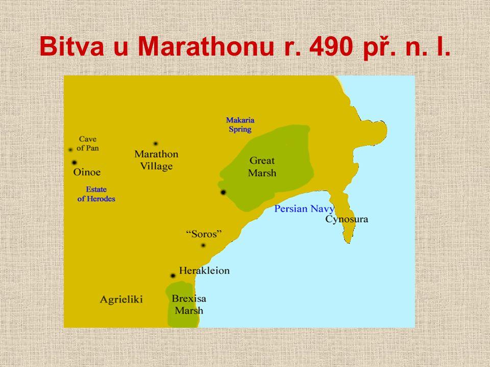 Bitva u Marathonu r. 490 př. n. l.