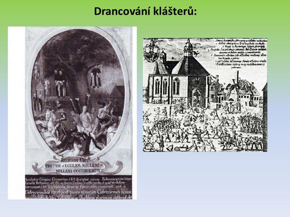 Drancování klášterů: