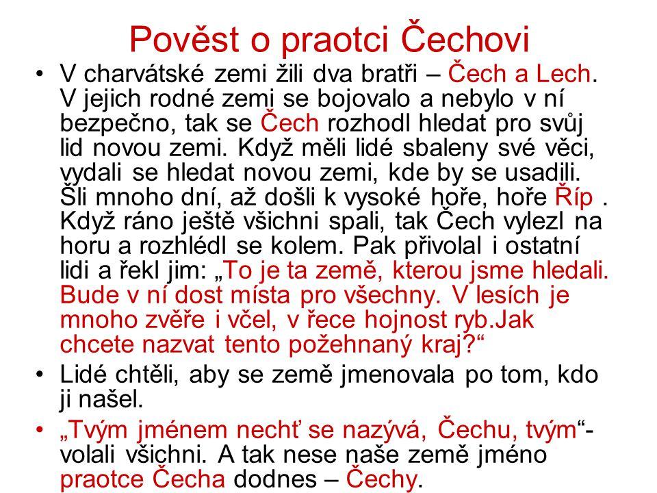 Pověst o praotci Čechovi