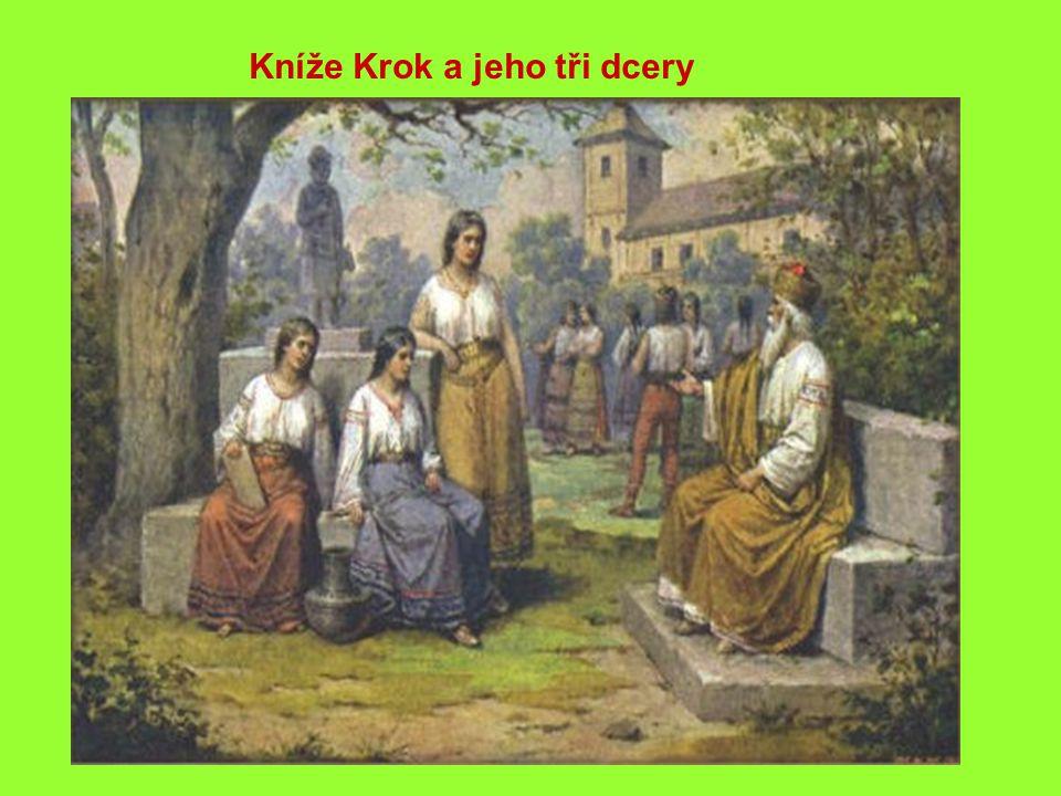 Kníže Krok a jeho tři dcery