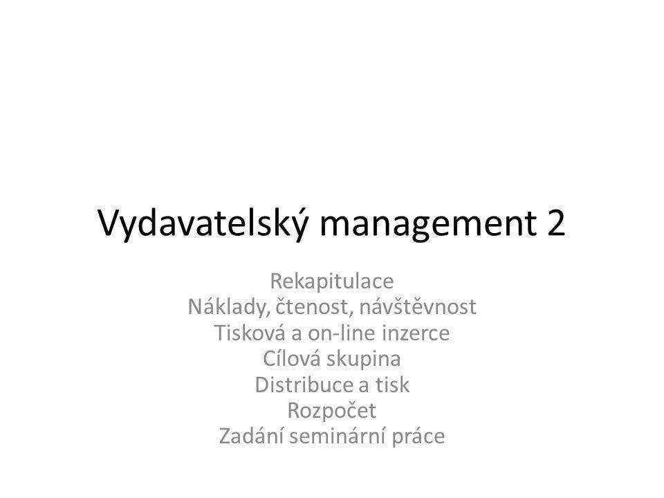 Vydavatelský management 2