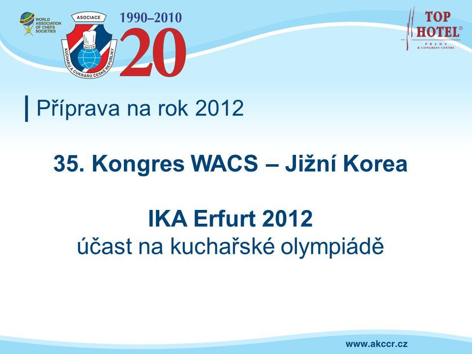 35. Kongres WACS – Jižní Korea