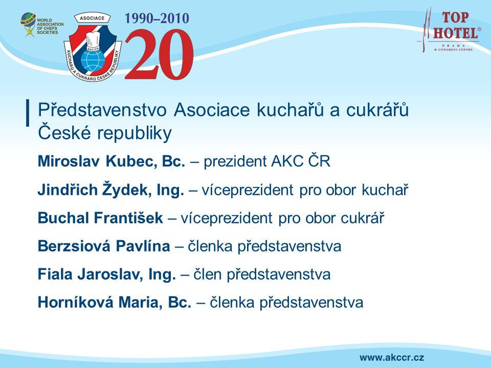 Představenstvo Asociace kuchařů a cukrářů České republiky