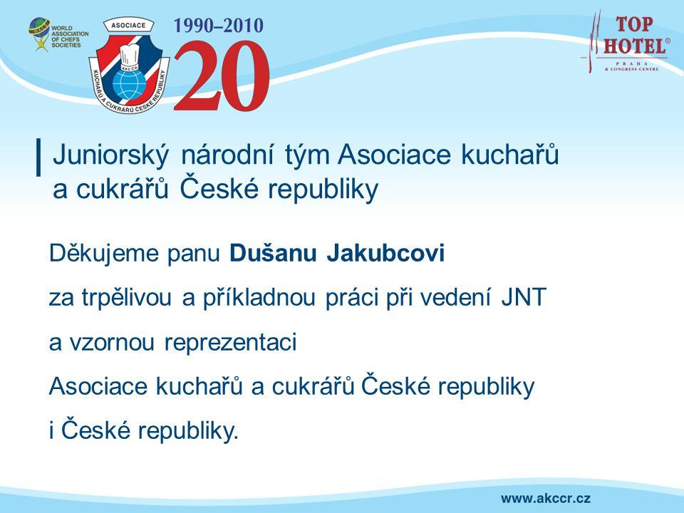 Juniorský národní tým Asociace kuchařů a cukrářů České republiky