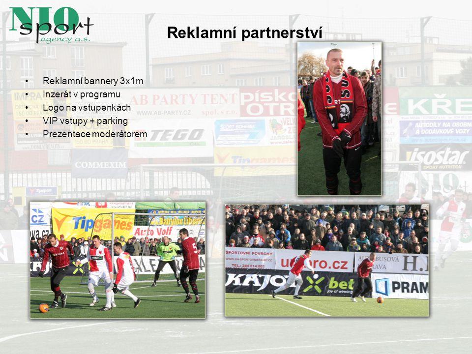 Reklamní partnerství Reklamní bannery 3x1m Inzerát v programu