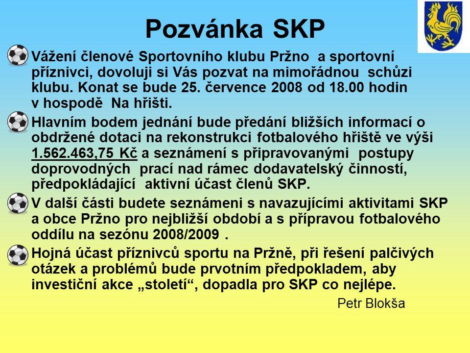 Pozvánka SKP