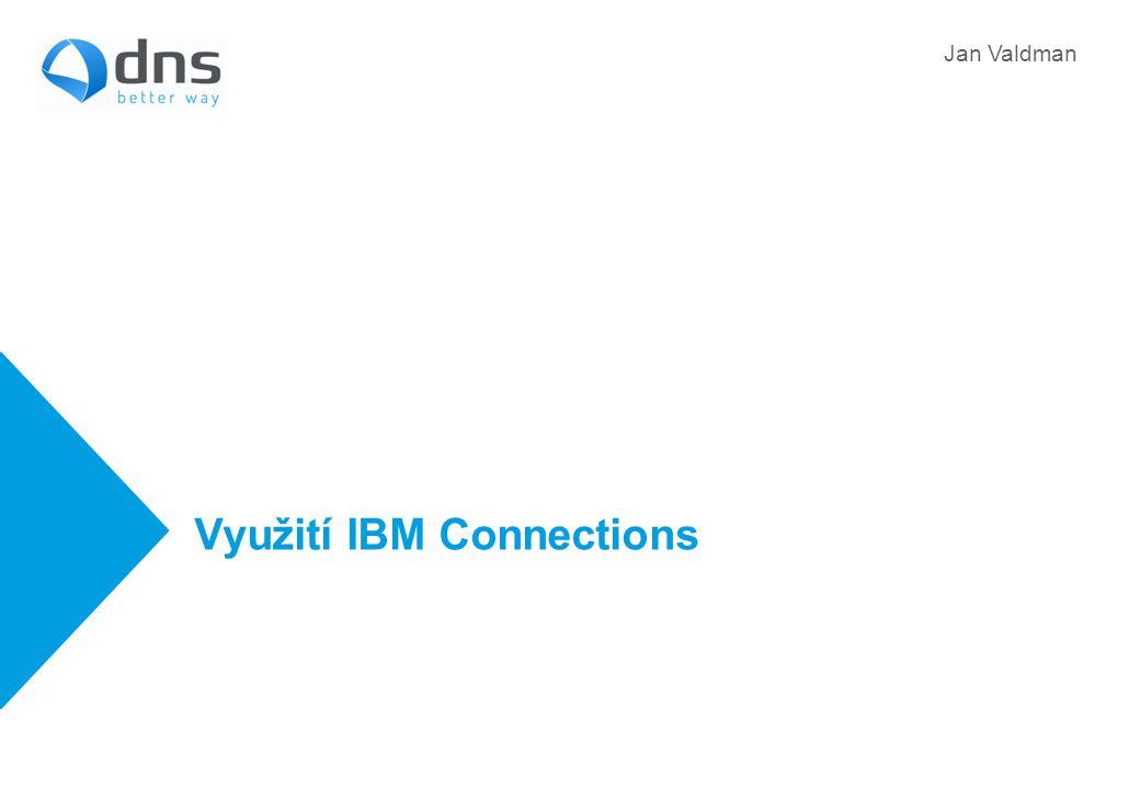 Využití IBM Connections