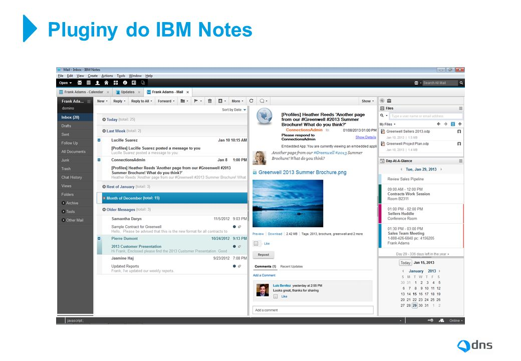 Pluginy do IBM Notes