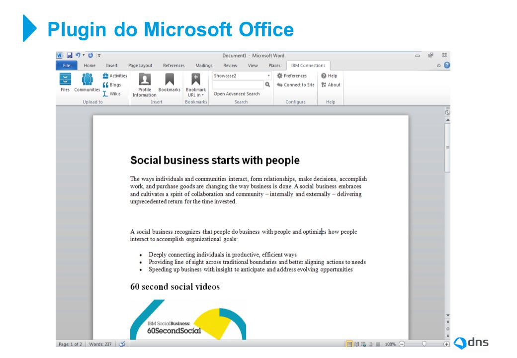 Plugin do Microsoft Office
