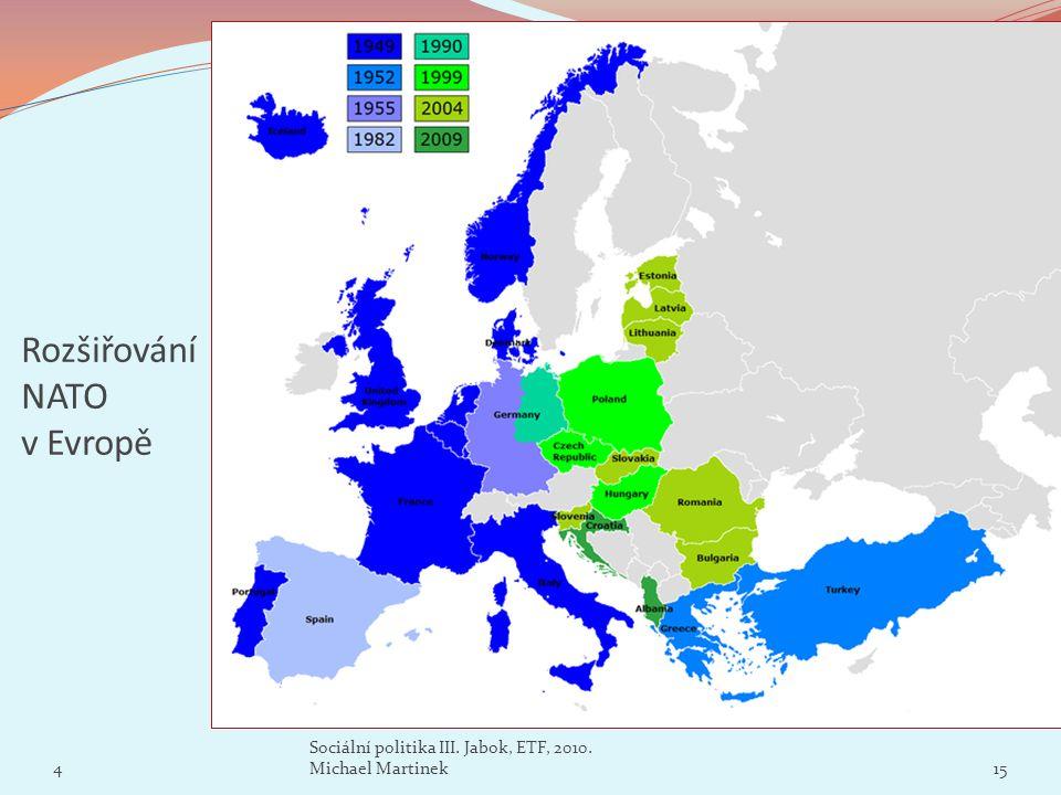 Rozšiřování NATO v Evropě