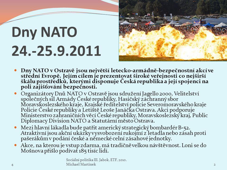 Dny NATO 24.-25.9.2011