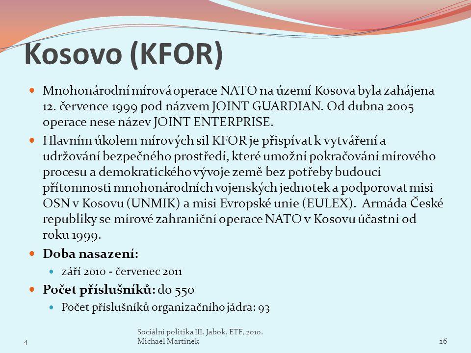 Kosovo (KFOR)