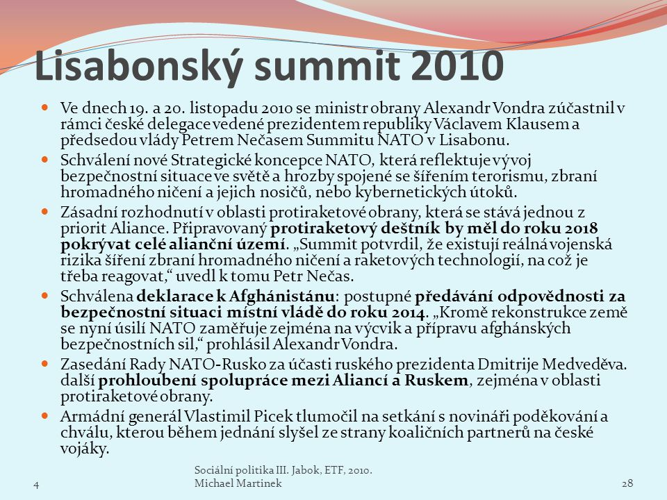 Lisabonský summit 2010