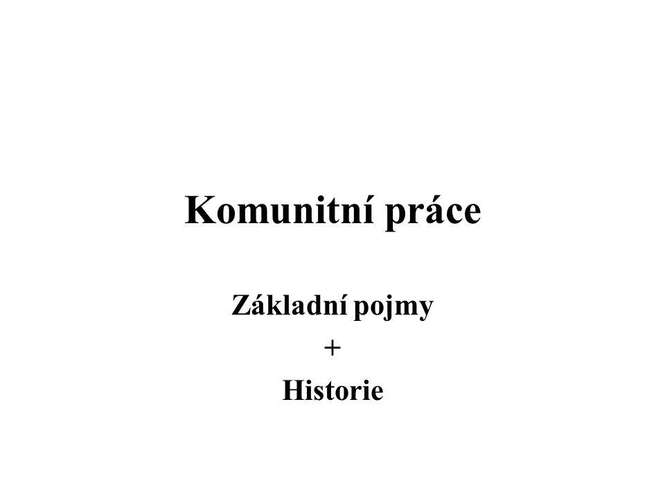 Základní pojmy + Historie