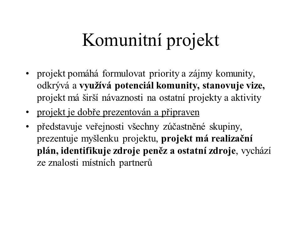 Komunitní projekt