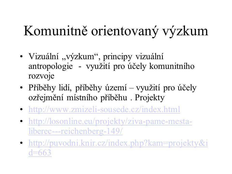 Komunitně orientovaný výzkum