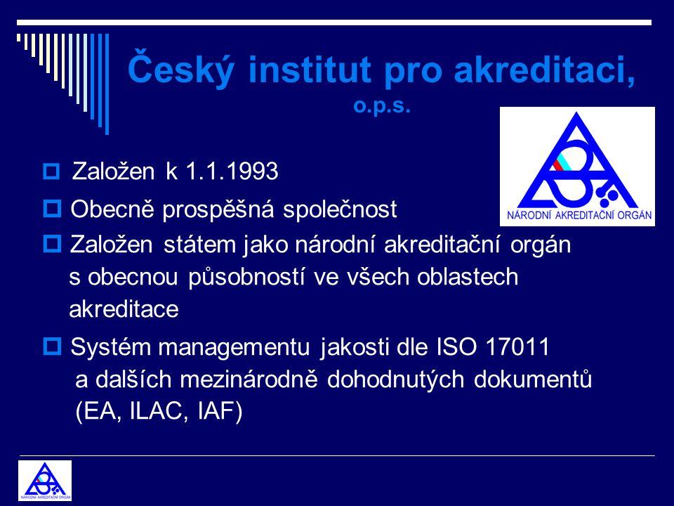 Český institut pro akreditaci, o.p.s.