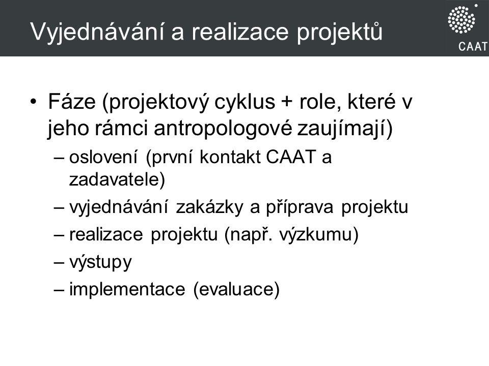 Vyjednávání a realizace projektů