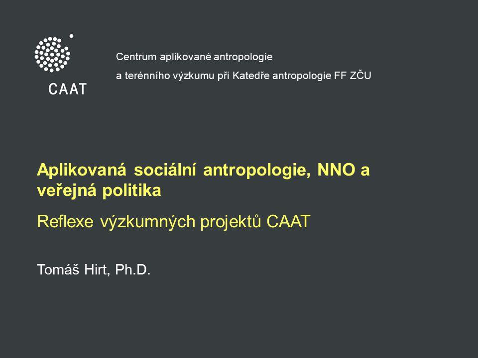 Aplikovaná sociální antropologie, NNO a veřejná politika