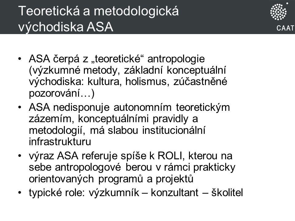 Teoretická a metodologická východiska ASA