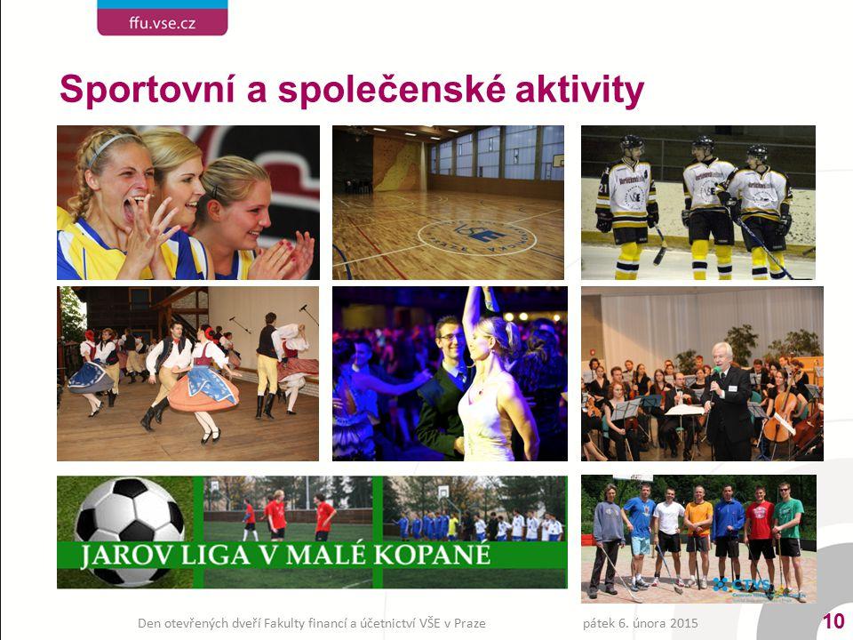Sportovní a společenské aktivity