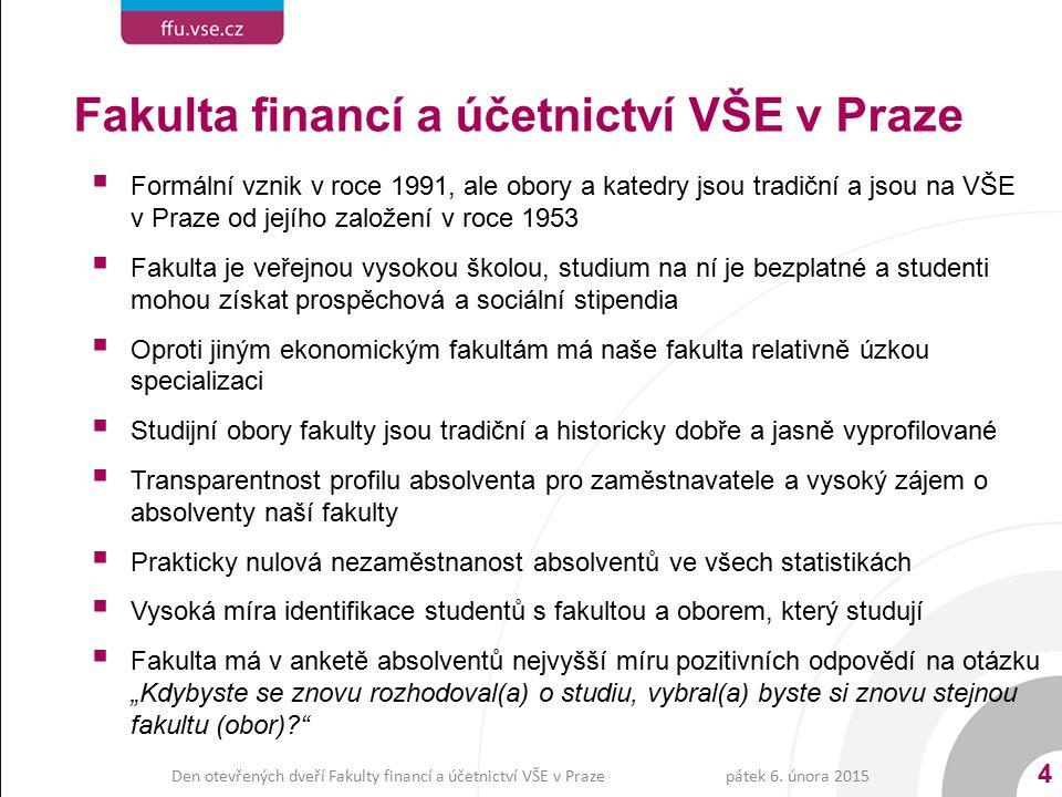 Fakulta financí a účetnictví VŠE v Praze