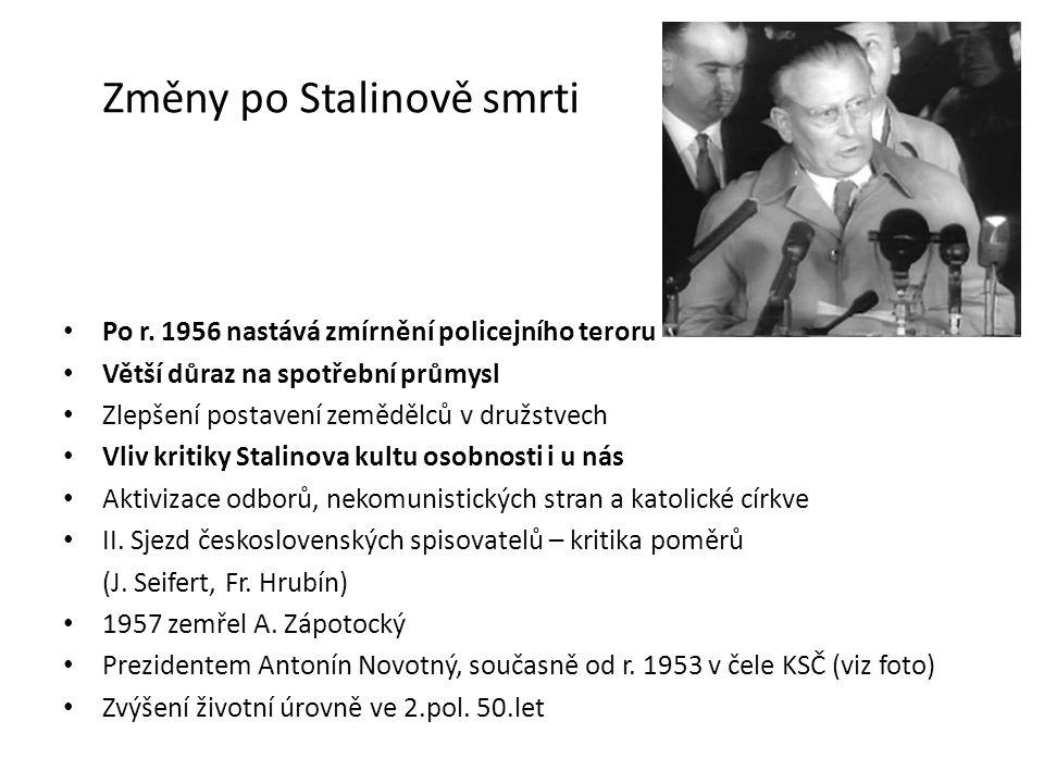 Změny po Stalinově smrti