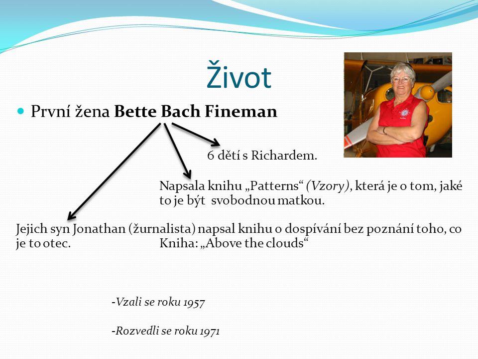 Život První žena Bette Bach Fineman