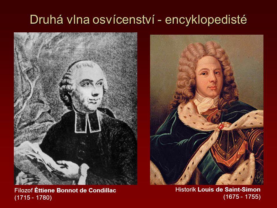 Druhá vlna osvícenství - encyklopedisté