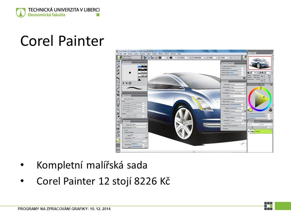 Corel Painter Kompletní malířská sada Corel Painter 12 stojí 8226 Kč