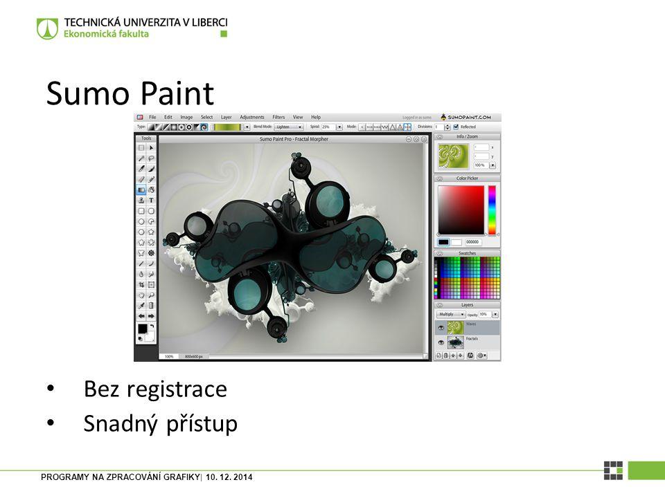 Sumo Paint Bez registrace Snadný přístup