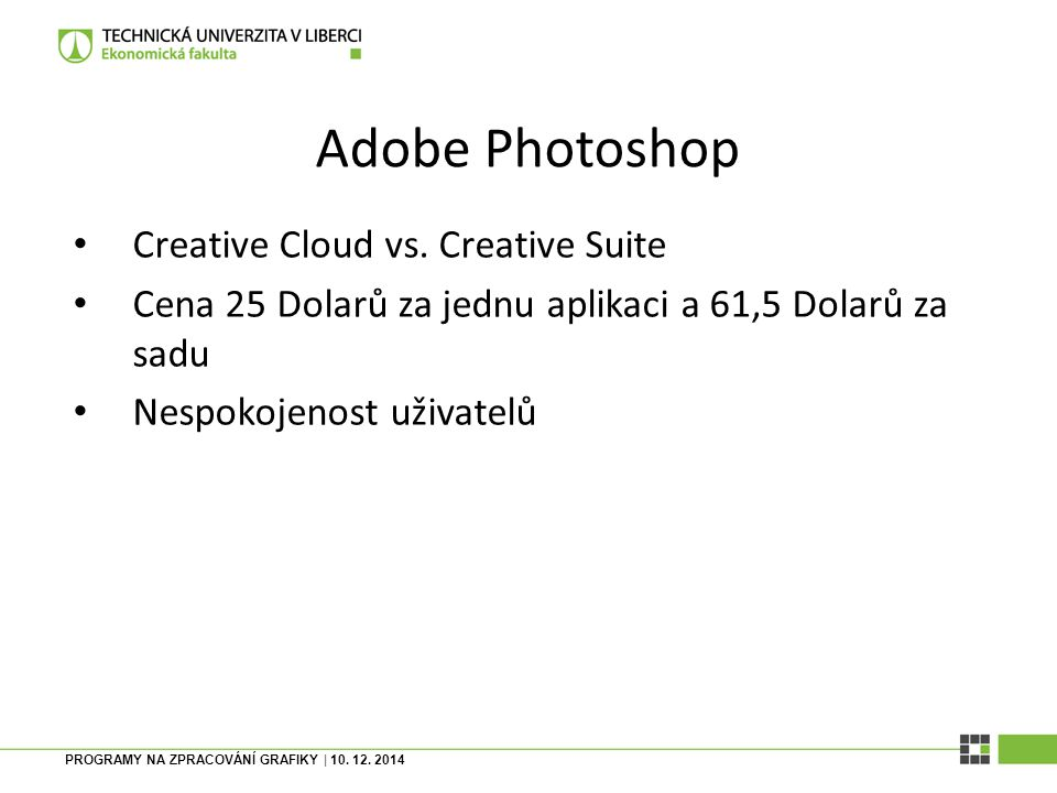 Adobe Photoshop Creative Cloud vs. Creative Suite