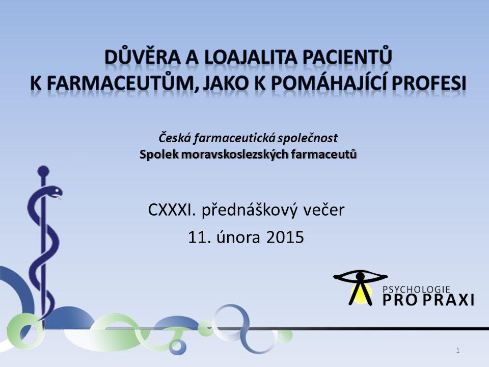 Česká farmaceutická společnost Spolek moravskoslezských farmaceutů
