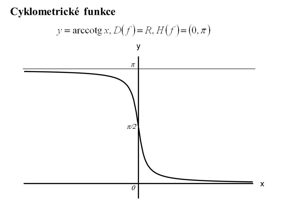 Cyklometrické funkce